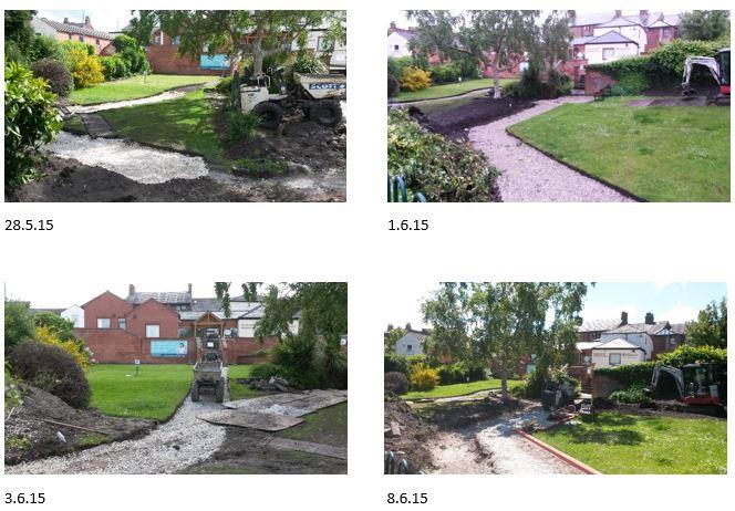 Antrobus St Gardens – Progress to date (9.6.15)
