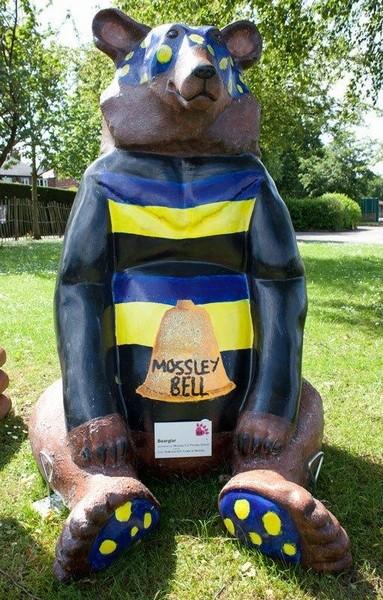 Bearglar Bear Mossley School Congleton