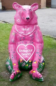 TTraeh - the bear with the big heart