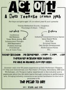 ct Out new teenage drama group Congleton