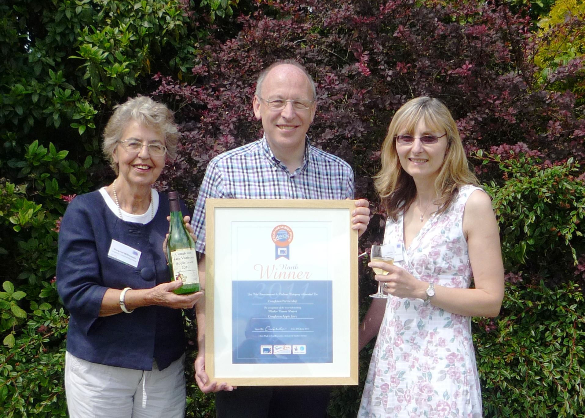 Award winning Congleton Apple Juice