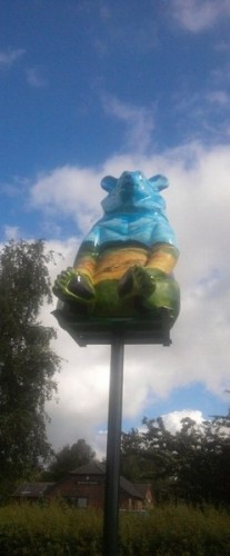 Bear in the air – Sandy (No.45)