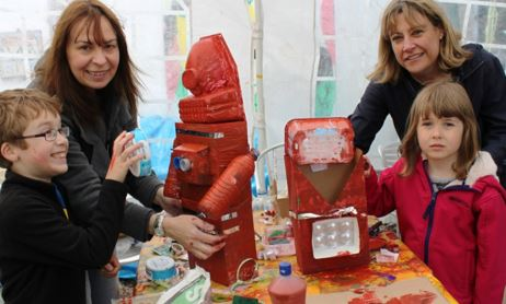 Gail & Adam Diorazio (9), Sarah Sands & Jessica Grayson (6), Buglawton Primary