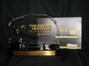 Hedge hog award