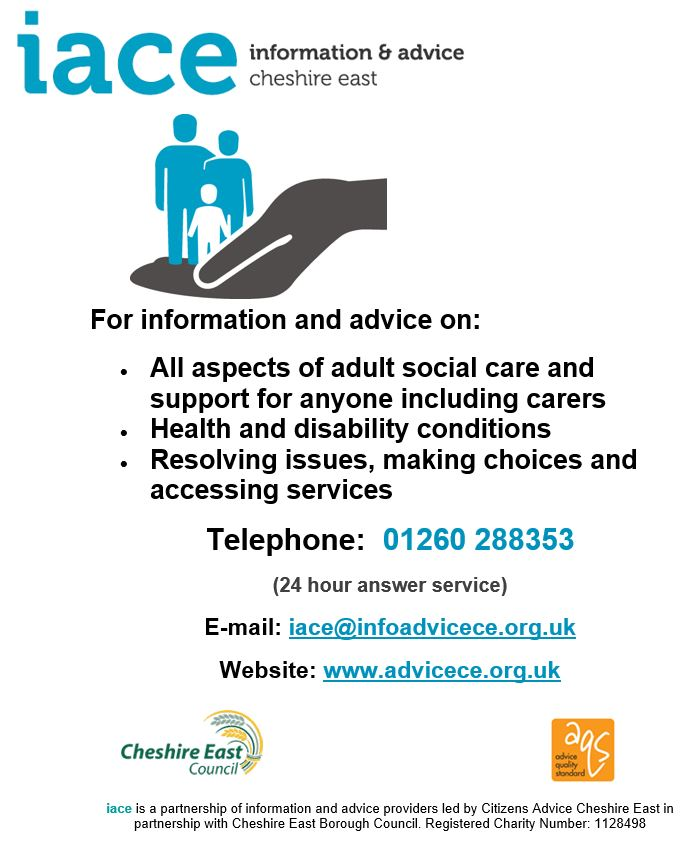 IACE - Information and Advice Cheshire East