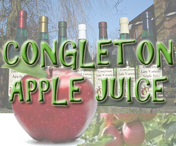 Award winning Congleton Apple Juice part of the Congleton Partnership