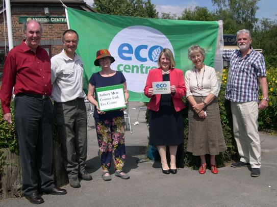 Astbury Mere Country Park became Cheshire's first and only Eco Centre in 2014.