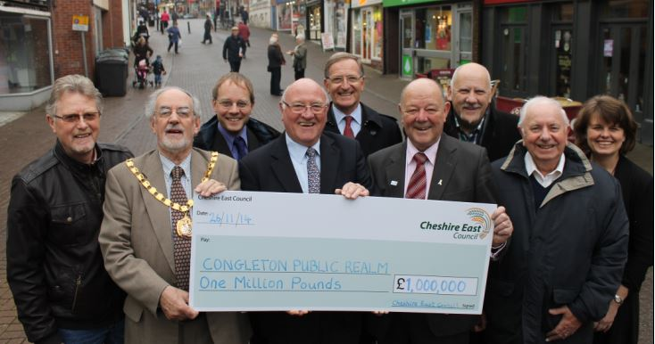 Congleton will see a million pound investment