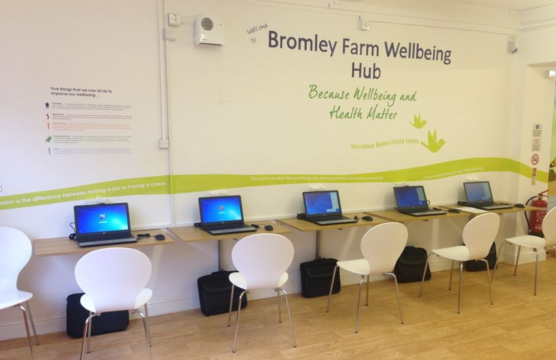 Bromley Farm Wellbeing Hub Job Club Congleton