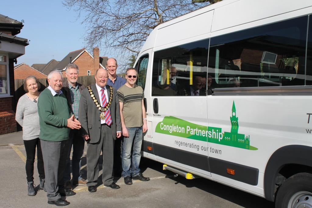 Mini Bus to Hire Congleton