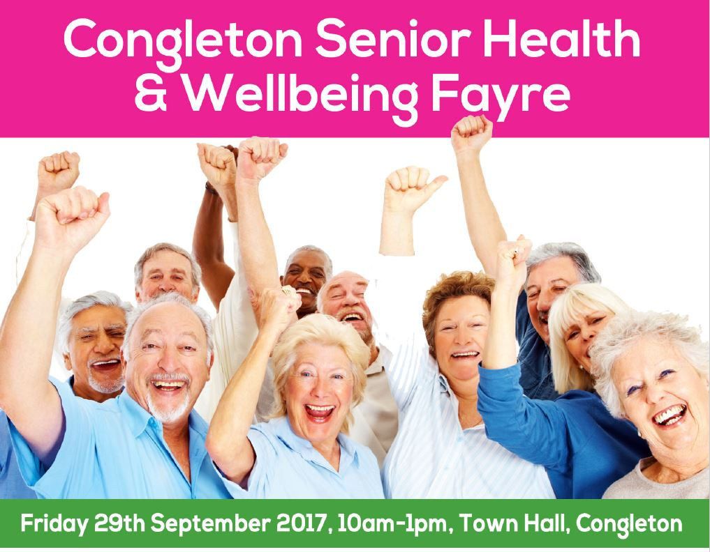 Congleton Senior Health & Well-being Fayre