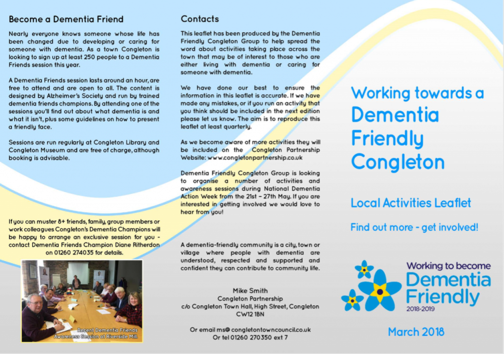 Dementia Friendly Congleton