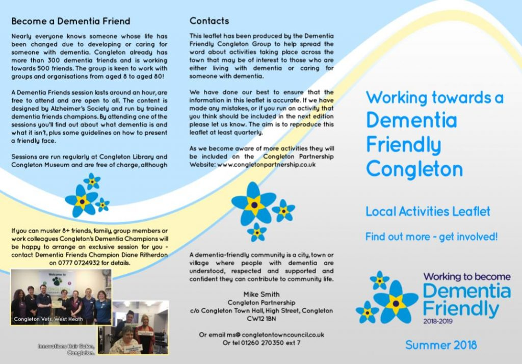 dementia friendly group