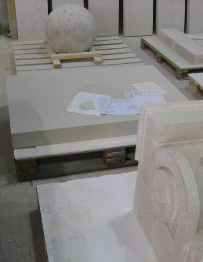 Stone work for Congleton Centopath