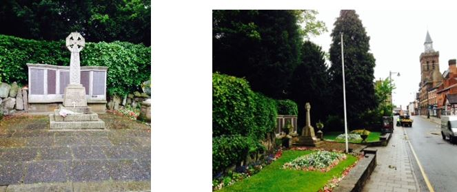 Congleton Cenotaph Renovation