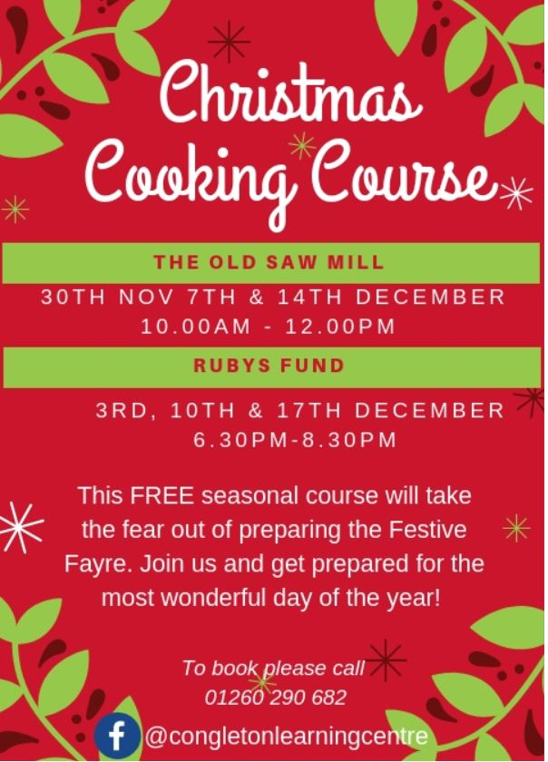 Christmas Cooking Course