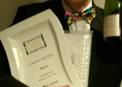 Cheshire Life Food Drinks Winner 2016