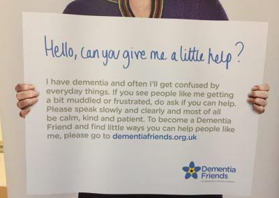 Can you help? Dementia Friends