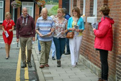 Dementia Friendly Walk Around Congleton