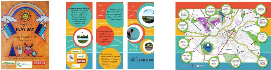 Congleton Play area leaflets