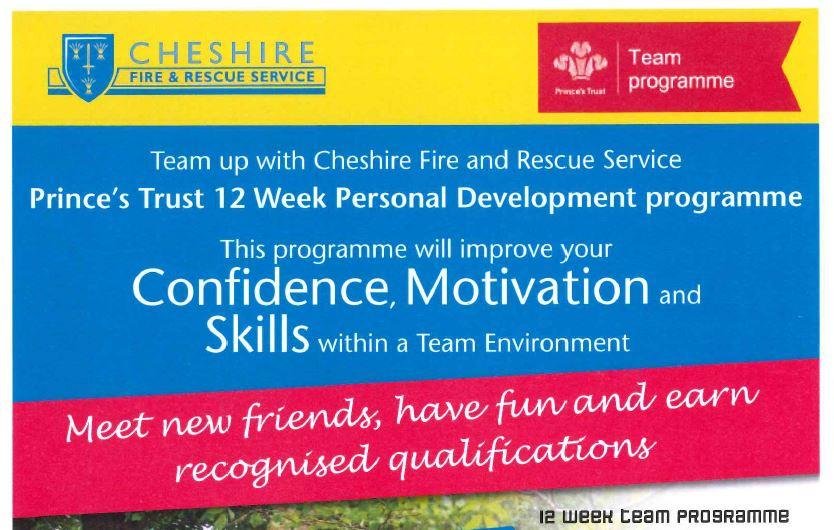 12 week Princes Trust Programme