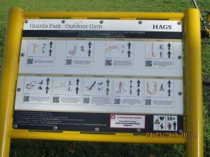 Quinta Park Congleton exercise equipment