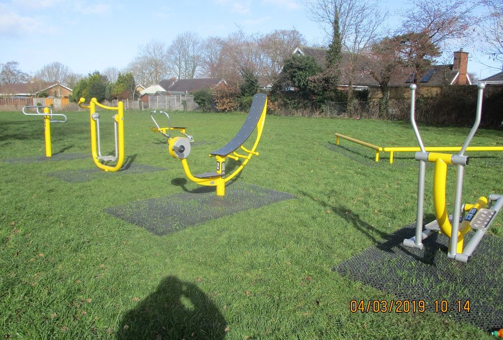 Adult Play Area at Quinta Park, Ullswater Rd.