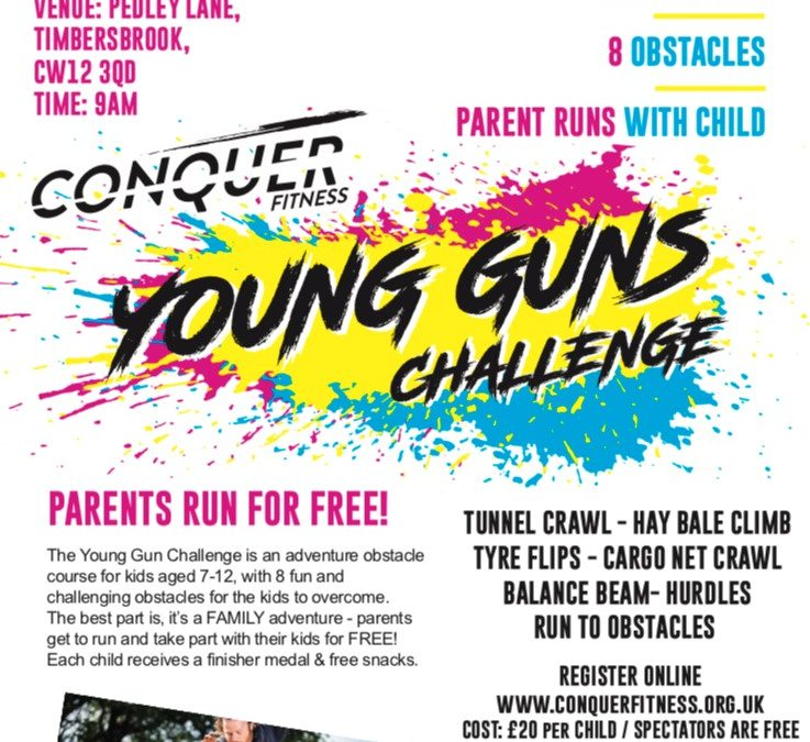 Conquer Fitness Young Guns Challenge