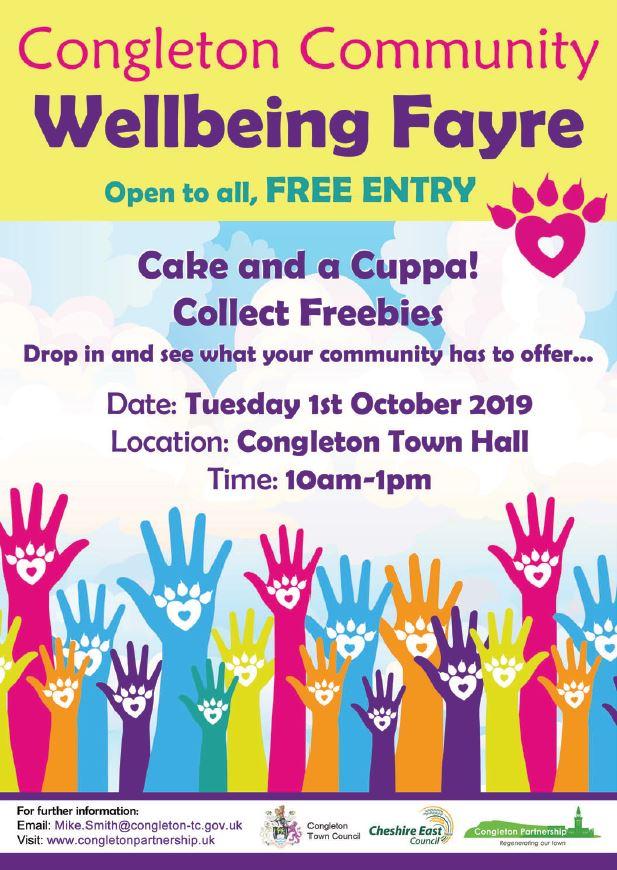 Congleton Community Wellbeing Fayre