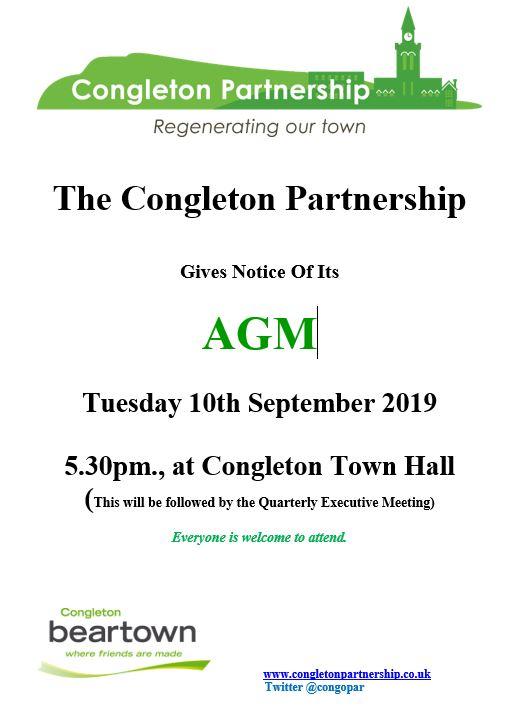 Congleton Partnership AGM notice