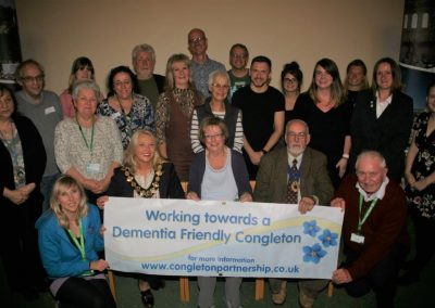 Dementia Friendly businesses in Congleton