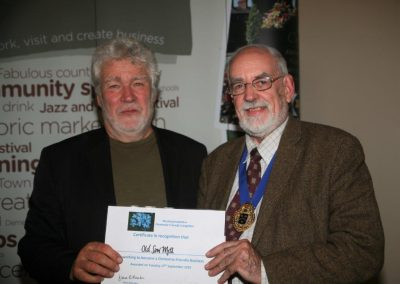 The Old Saw Mill Dementia Friendly Business Award