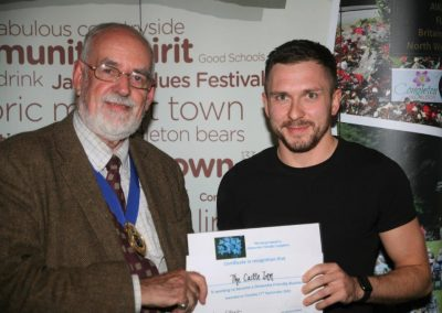 The Castle Inn receives dementia-friendly recognition