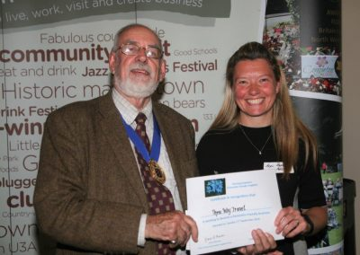 Three Way Travel receives dementia friendly recognition