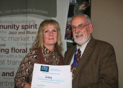 Top Nosh a dementia friendly business in Congleton.