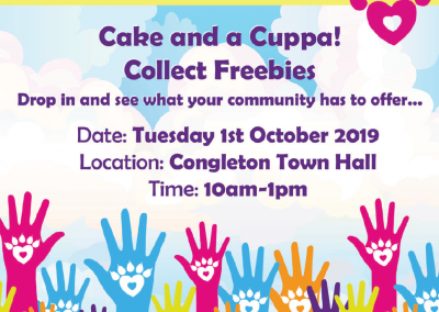 Congleton Wellbeing Fayre Poster