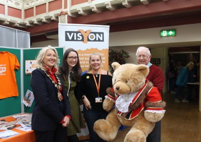 Major bear visited Congleton Wellbeing Fayre