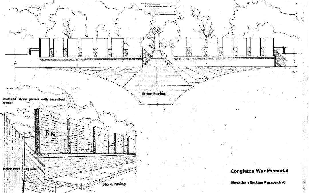 Congleton Cenotaph Refurbishment 2020