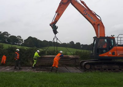 Access Track Installation to the site