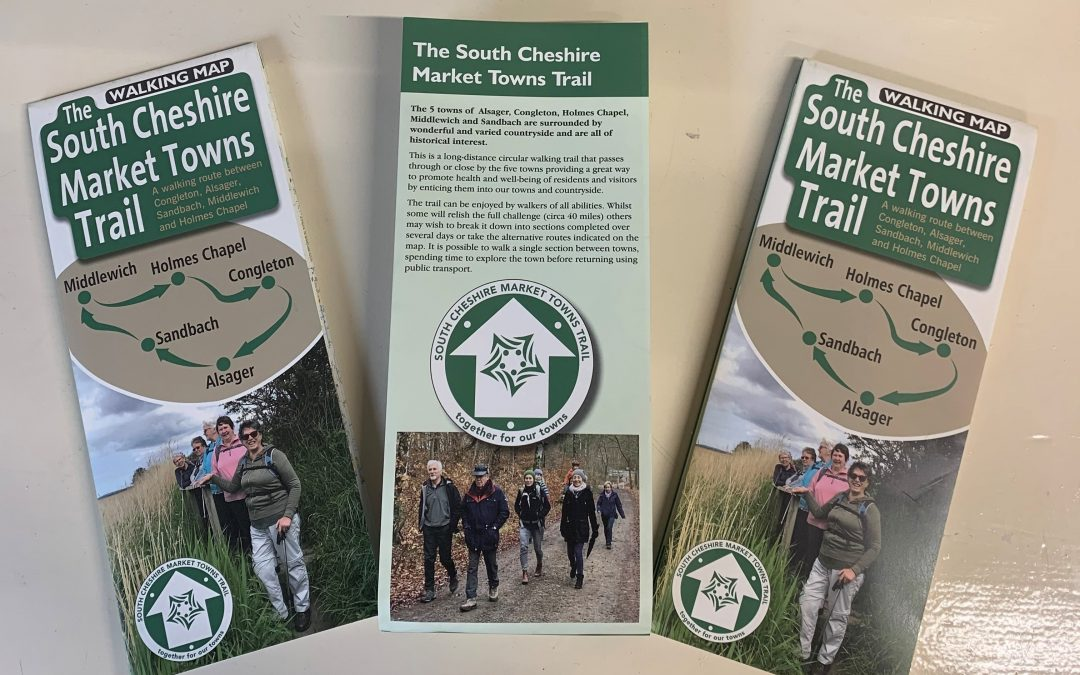 South Cheshire Market Walking Trail Map